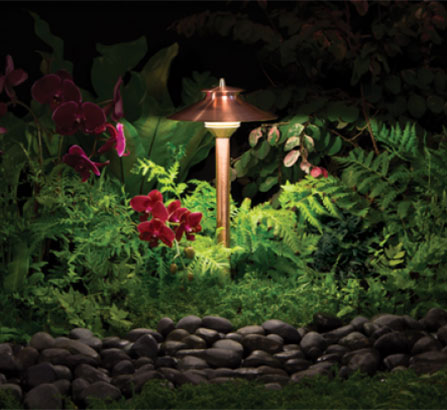 Photo of a FX Luminaire Landscape Light