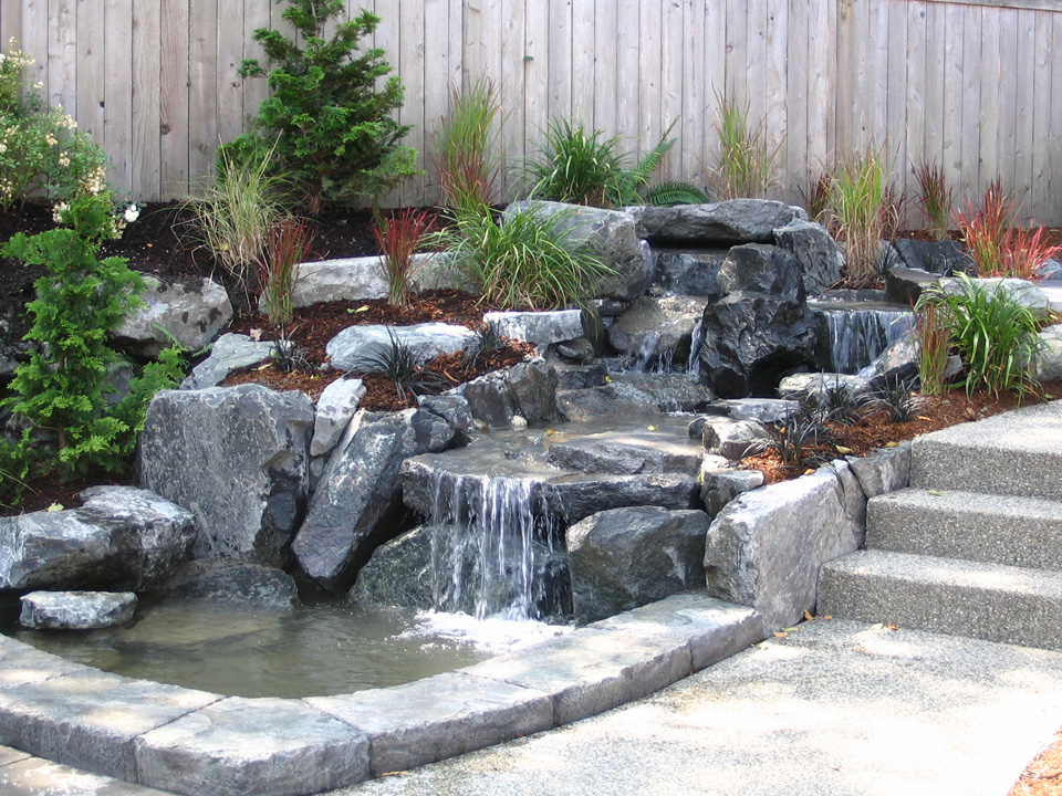 emejing waterfall landscape design ideas gallery interior design - Waterfall Landscape Design Ideas