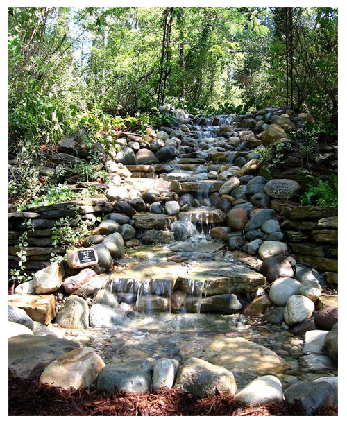 waterfall stream kit vanishing waterfall kits backyard waterfall kits