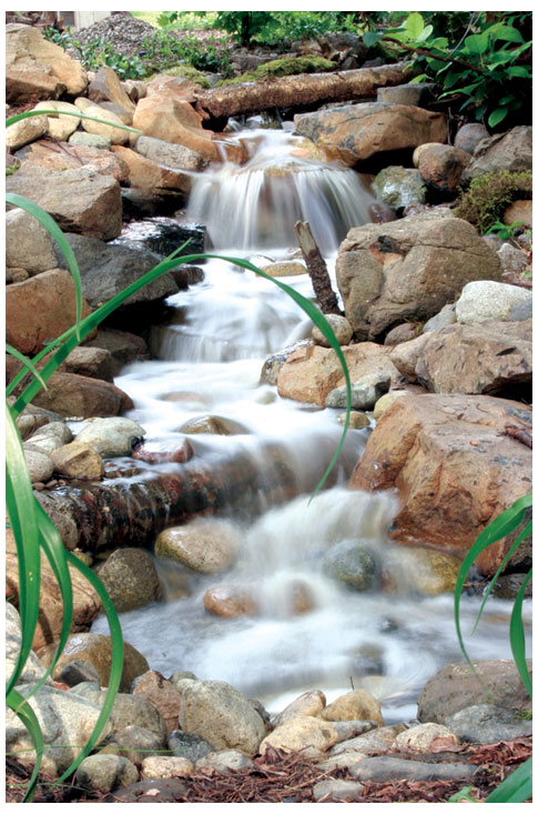 Sierra 2 wsp waterfall stream vanishing pool kit Small waterfall kit