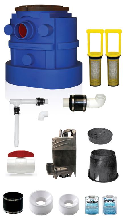 Accent 2 Water Fountain Kit Outdoor Indoor Pump Kit
