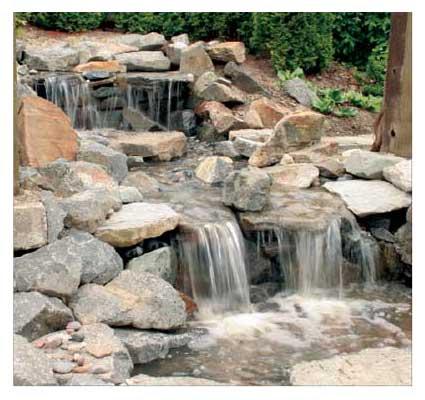 Sierra 3 Wsp Waterfall Stream Vanishing Pool Kit